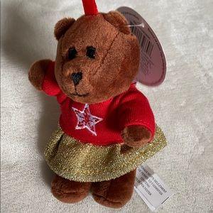 🌸5/$25 Starbucks Bearista Ornament plush bear